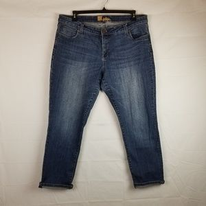 Kut from the Kloth Womens sz 18W Cropped Jeans